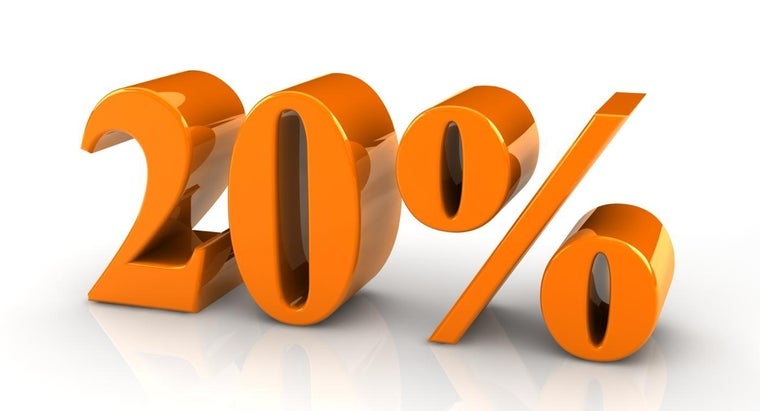 20-percent-fraction