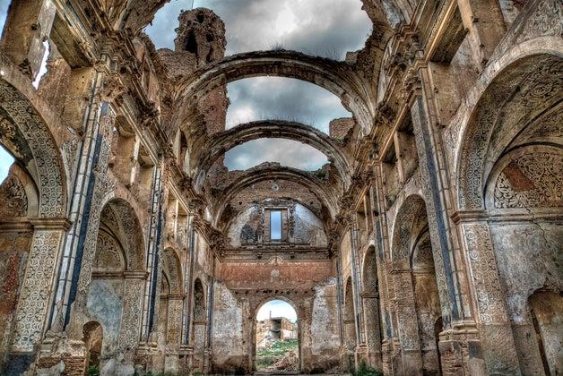 Belchite, iglesia