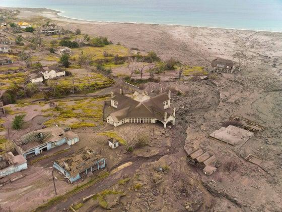 Soufrière Hills volcanic aftermath