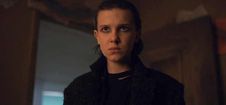 Lightened: Millie Bobby Brown Nosebleed