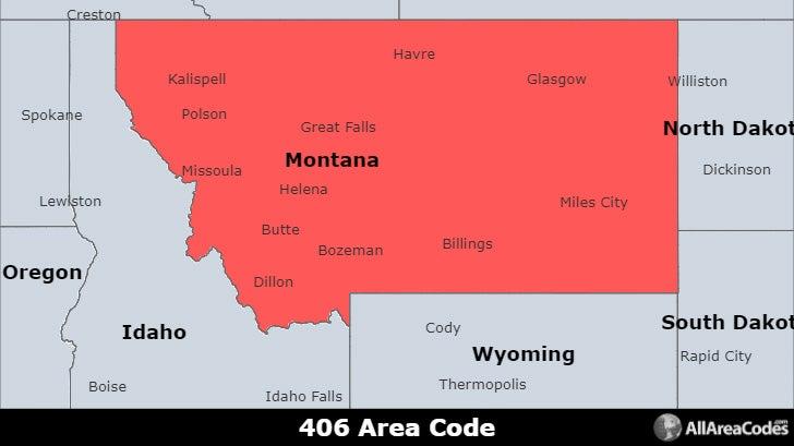 406 Area Code