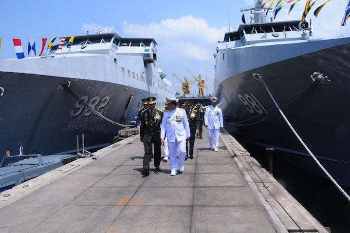 indonesian military ships