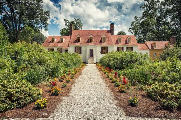 Virginia house and garden