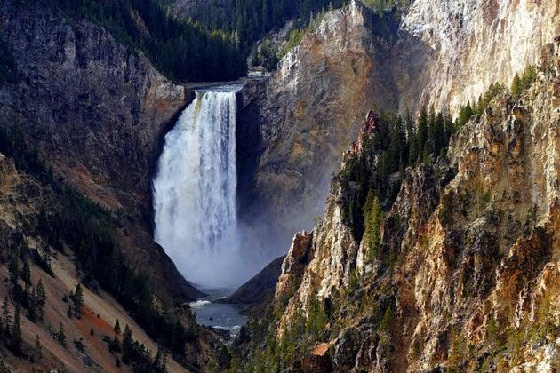 Wyoming waterfall