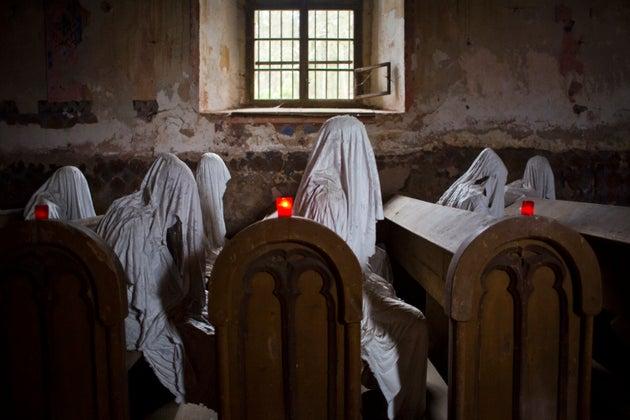 Ghost Exhibition By Jakub Hadrava