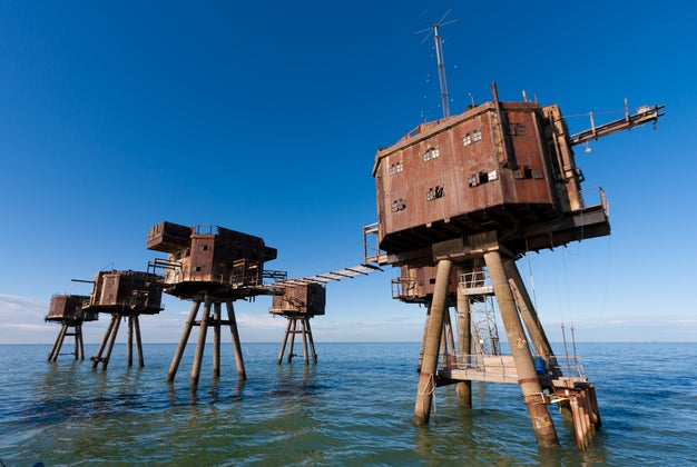 The Maunsell Sea Forts - England