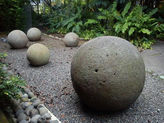 Stone spheres of Costa Rica. Museo Nacional