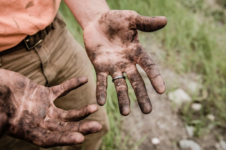 filthy hands