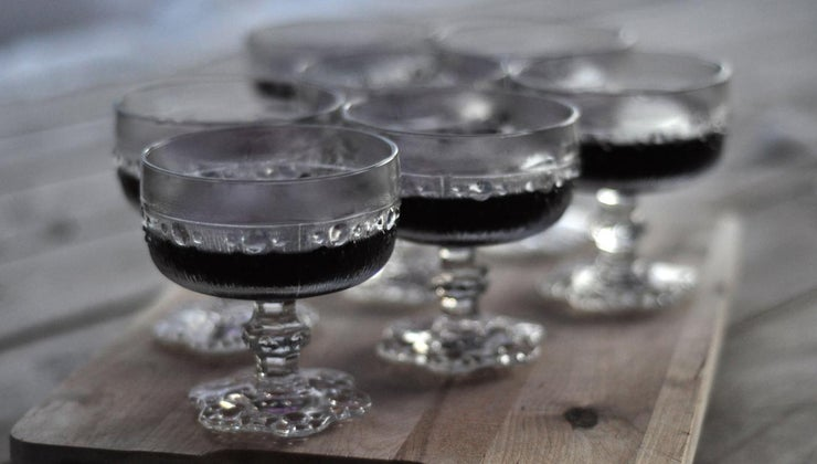 make-black-jell-o