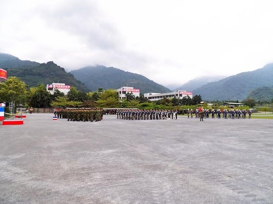 soldiers from taiwan