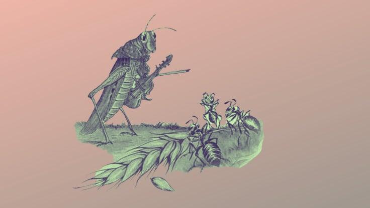 Ant Grasshopper Fable