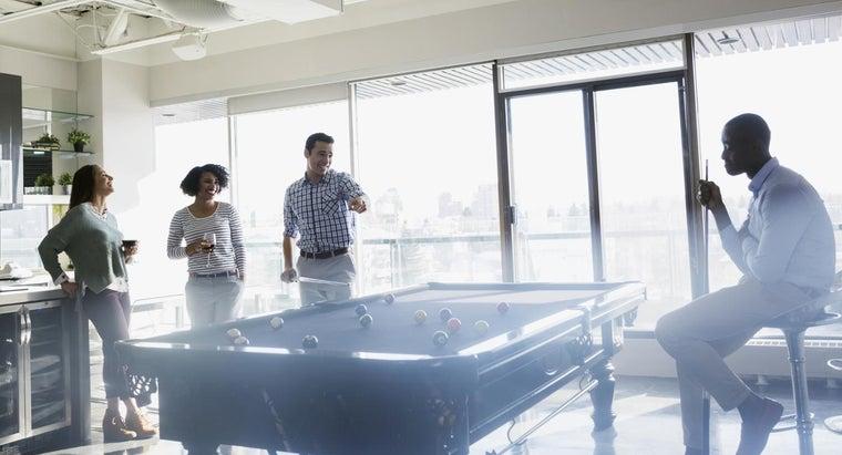 average-size-billiard-table