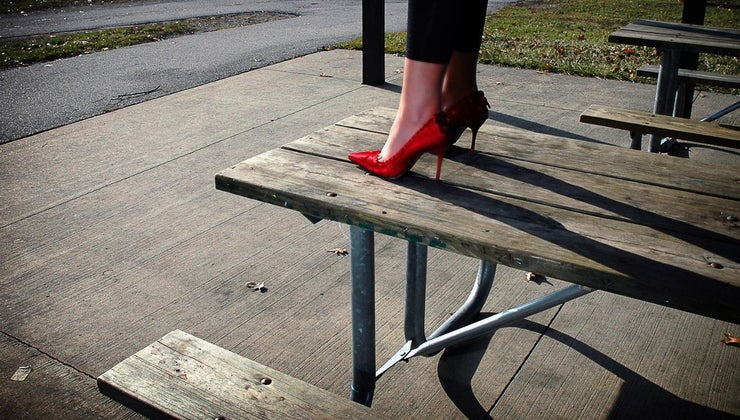 bad-luck-put-new-shoes-table