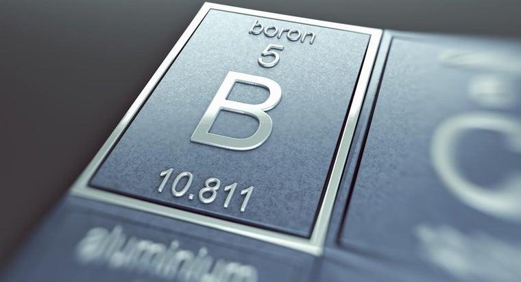 boron-metal-nonmetal