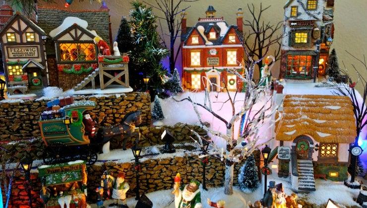 build-christmas-village-display