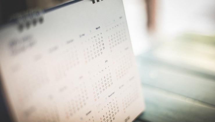 months-calendar-five-weeks