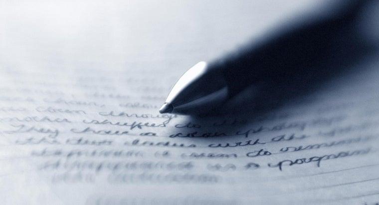 characteristics-prose