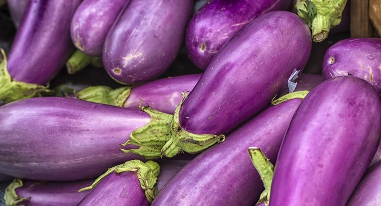 What Does The Color Aubergine Look Like