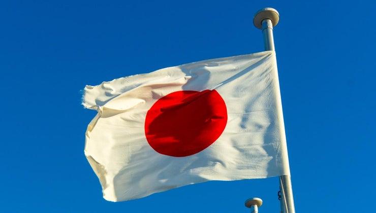 color-symbol-japan-s-flag-stand