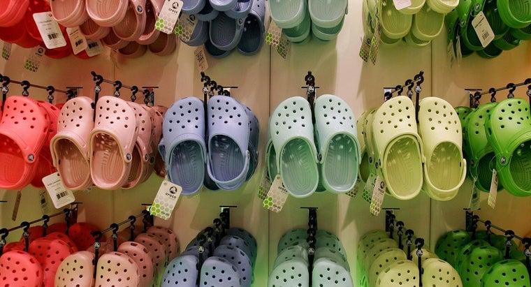 crocs-made