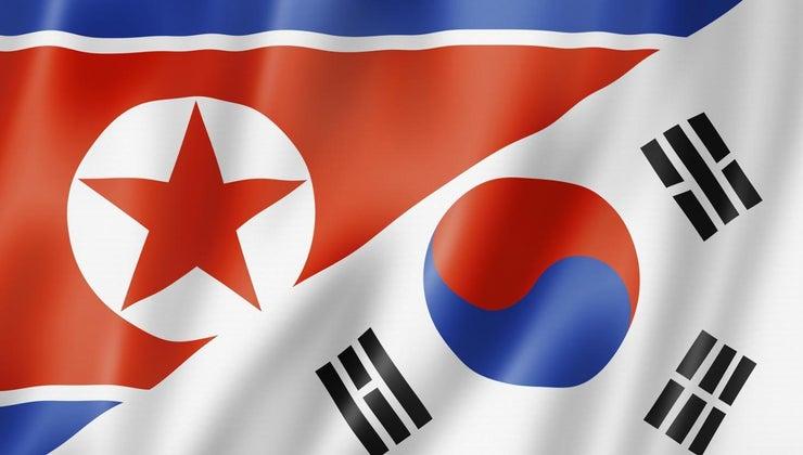 did-north-south-korea-split