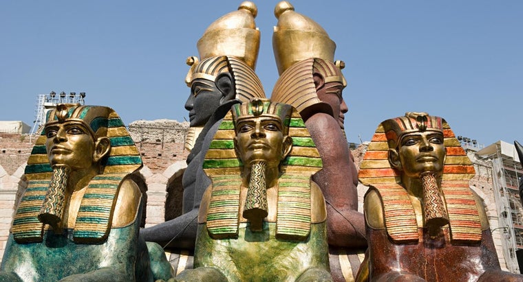 did-pharaohs-wear