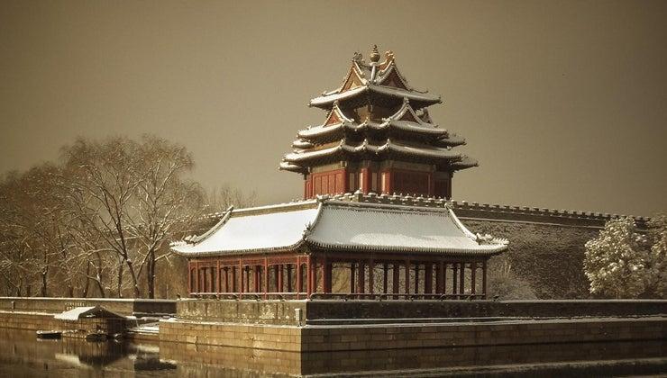 snow-china