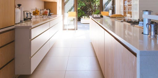 tile kitchen and countertops
