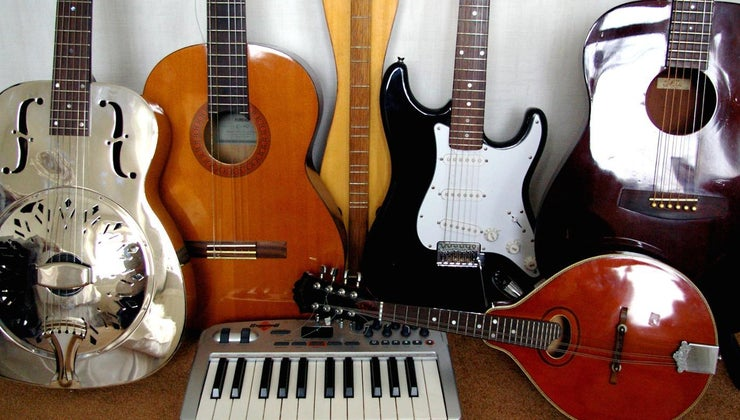 five-types-musical-instruments