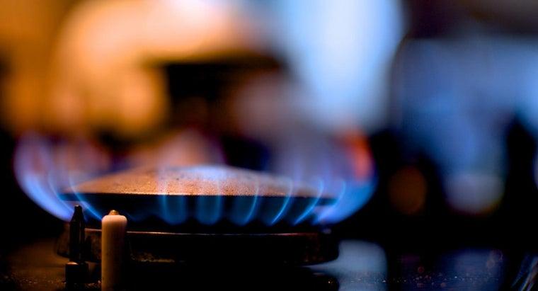 flame-gas-stove-burns-yellow-should