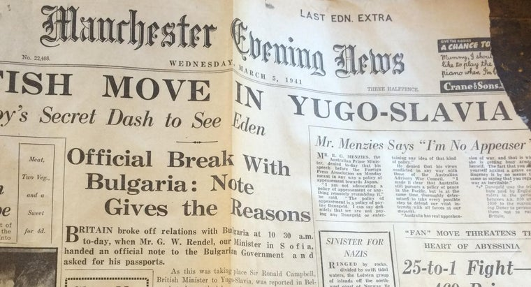 font-used-newspaper
