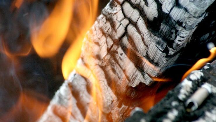 happens-wood-burns