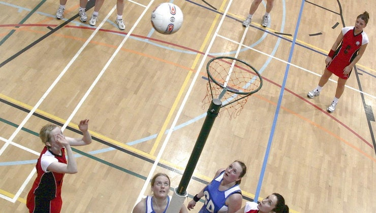 height-netball-post