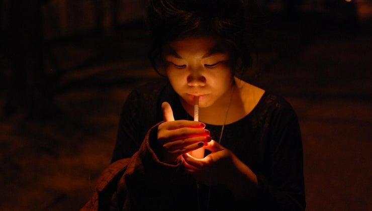 hot-tip-lit-cigarette