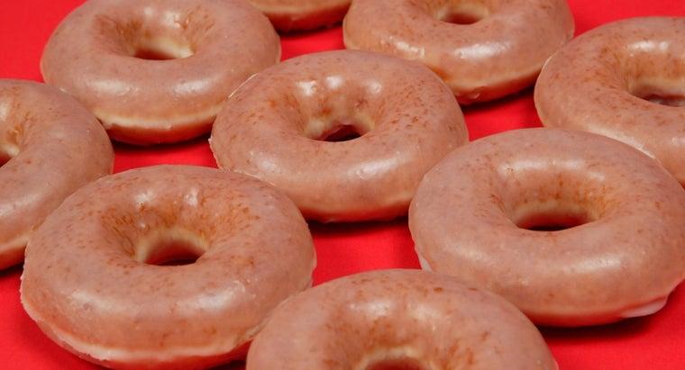 many-calories-glazed-donut