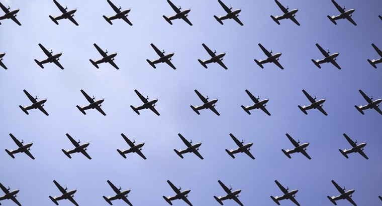 many-planes-air-given-time