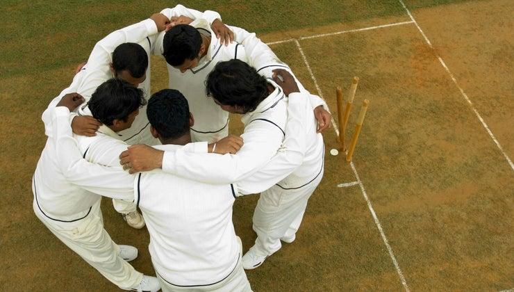 many-players-cricket-team