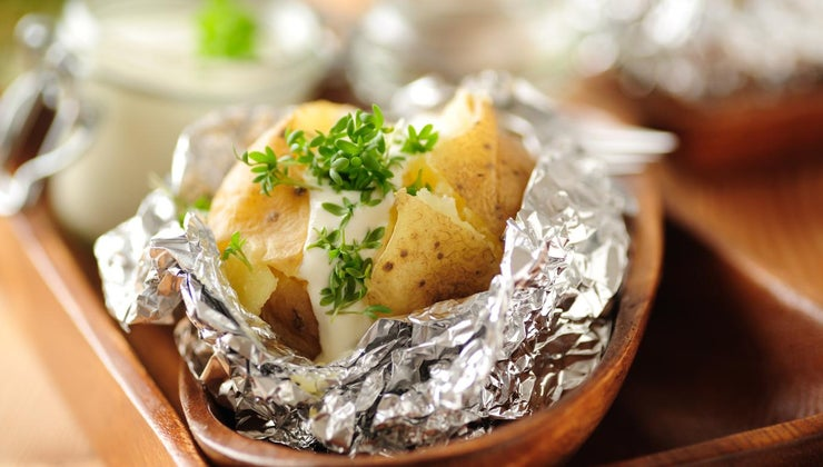 long-bake-potato-wrapped-foil