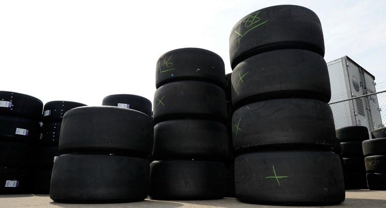 many-tires-used-nascar-race