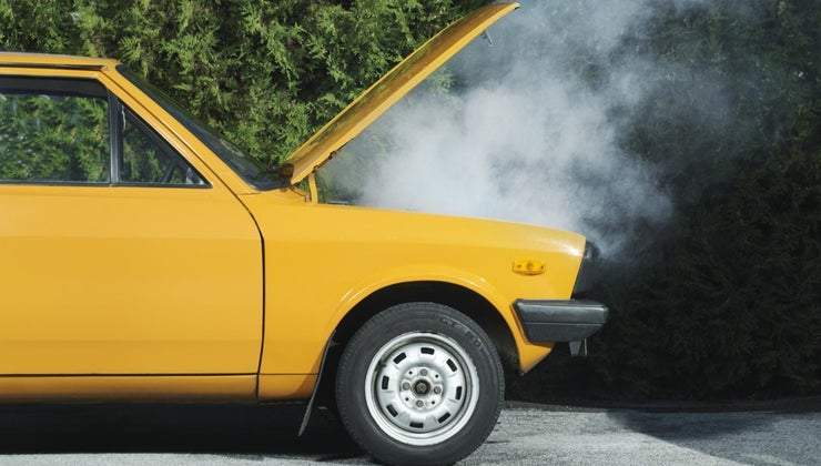 mean-car-emits-white-smoke