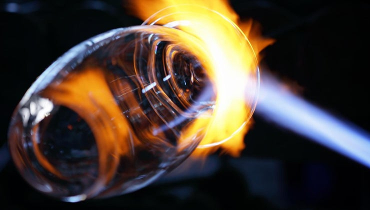 melting-point-glass
