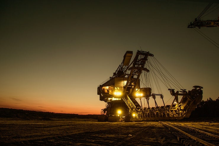 Mining Excavator 1736293 1280
