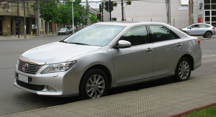 much-toyota-camry-weigh