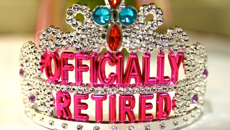 Officially Retired Tiara Crown