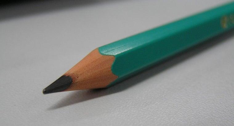 pencil-look-bent-water