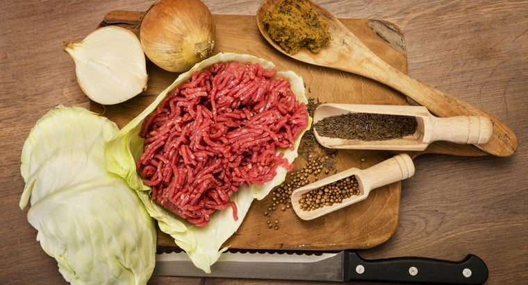 long-raw-hamburger-meat-good-refrigerator