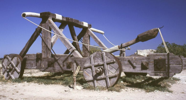 were-catapults-used