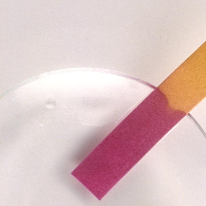 What Color Does Litmus Paper Turn in Acid?