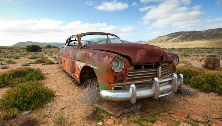 rusting
