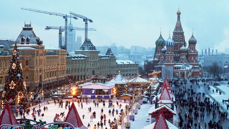 Xmas Russia